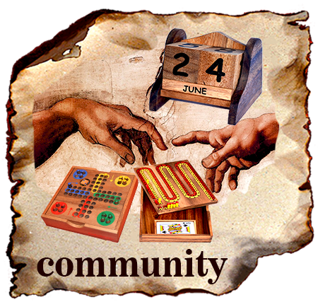 Ting Tong Wooden Games Puzzle Community